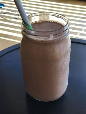 Sinfully Delicious Chocolate Shake