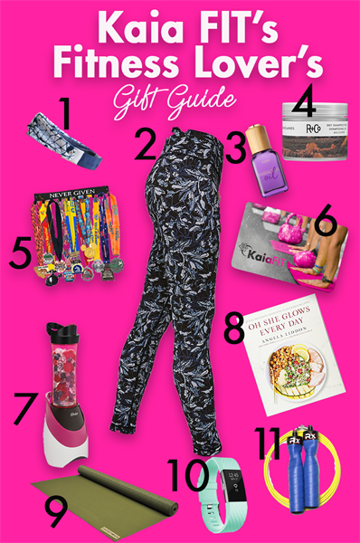 Kaia FIT's Fitness Lover's Gift Guide