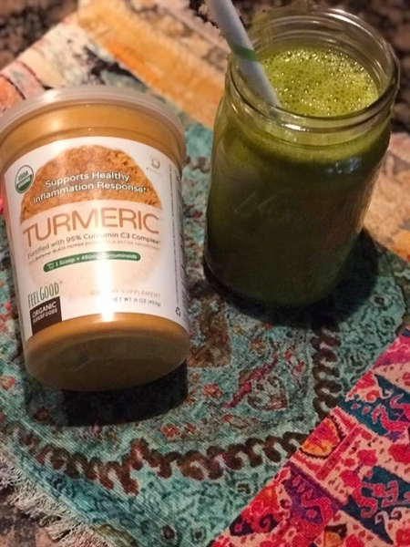 Turmeric Green Smoothie