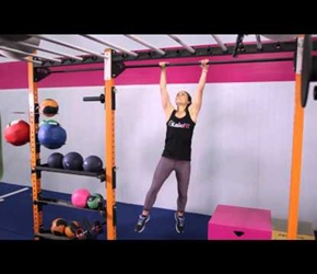 Overhand and Underhand Pull Up Kaia Fit Demonstration