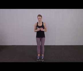 2 Feet Cross Jumps Kaia Fit Demonstration