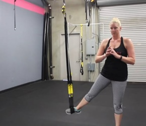 TRX Mobility Abducted Lunge